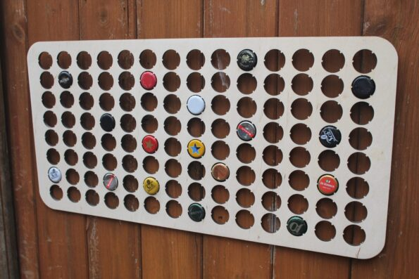 112 Bottle Cap Holder Map BeerCap Map Collection Gift Art