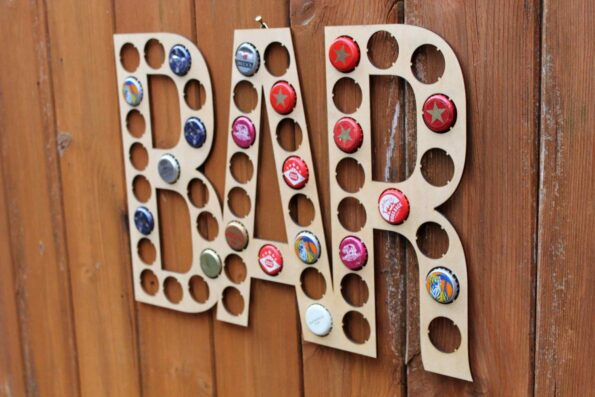 Bar Bottle Beer Cap Collection Bottle Cap Beer Gift Art