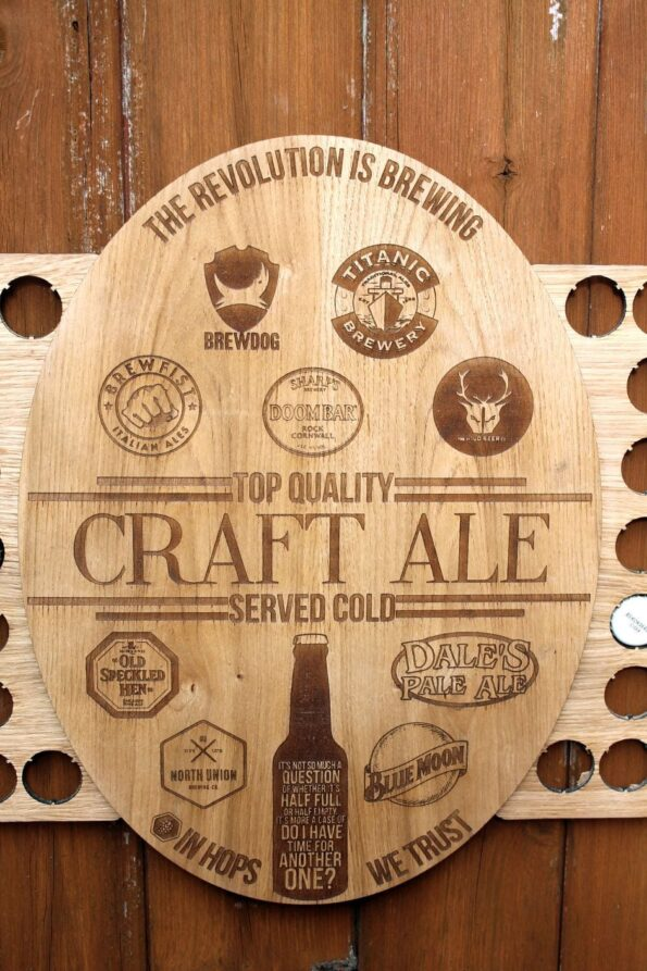 Craft Ale Bottle Cap Collection Beer Cap Gift Art Breweries Beer