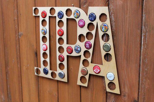 IPA Letters Bottle Beer Cap Collection Bottle Cap Gift Art