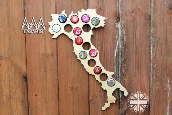 Italy Beer Cap Map Bottle Cap Map Collection Beer Gift