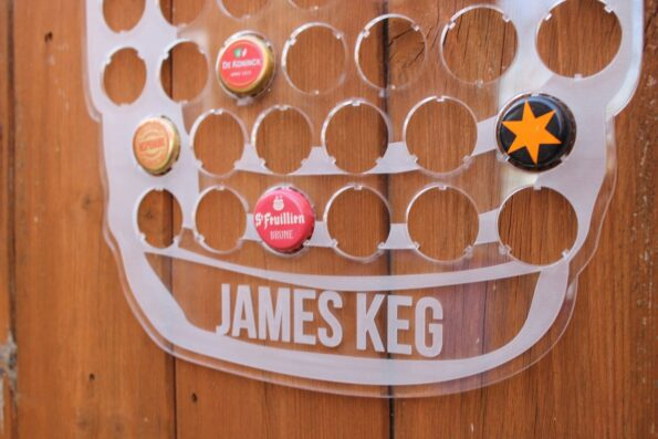 Keg Beer Cap Map Collection Acrylic